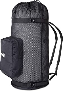 Premium Dive Mesh Backpack By Adventure At Nature: Superior Quality Scuba Gear Bag/ Sturdy Stitching, Safety Drawstring & Strap, Padded Shoulder Strap/ Sturdy Mesh Snorkel Bag/ Top Dive Gear Gift