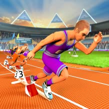 Summer Sports Games: Athletics Extreme Running, Hurdle Race, Cycle Race and High Jump Athletics Championship