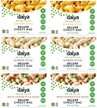 Daiya Cheezy Mac Variety Pack Cheddar, Alfredo, White Cheddar Veggie 10.6 oz.