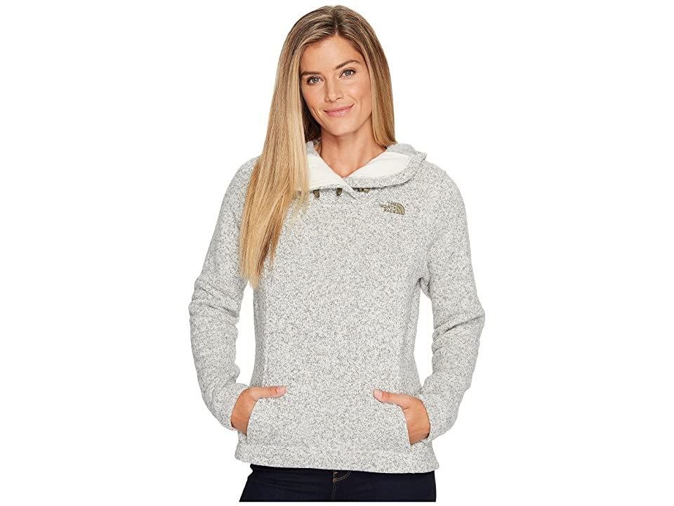 The North Face Crescent Hooded Pullover (Vintage White Heather (Prior Season)) Women