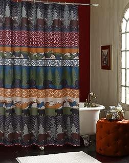 Barefoot Bungalow Black Bear Lodge Bath/Shower Curtain