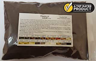 Hair Building Fibers 57 Grams. Highest Grade Refill That You Can Use for Your Bottles From Competitors Like Toppik?, Xfusion?, Bosley? (Medium Brown)
