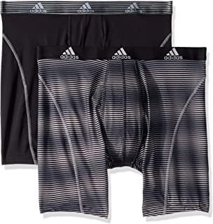 adidas Men's Sport Performance Climalite 9-Inch Midway Underwear (Pack of 2)