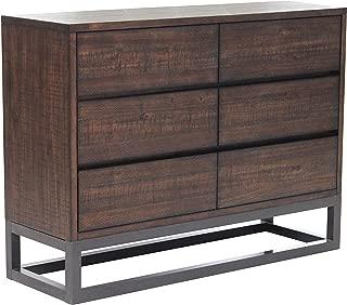 Pulaski  Home Comfort Rustic Industrial Six Drawer Dresser, 48