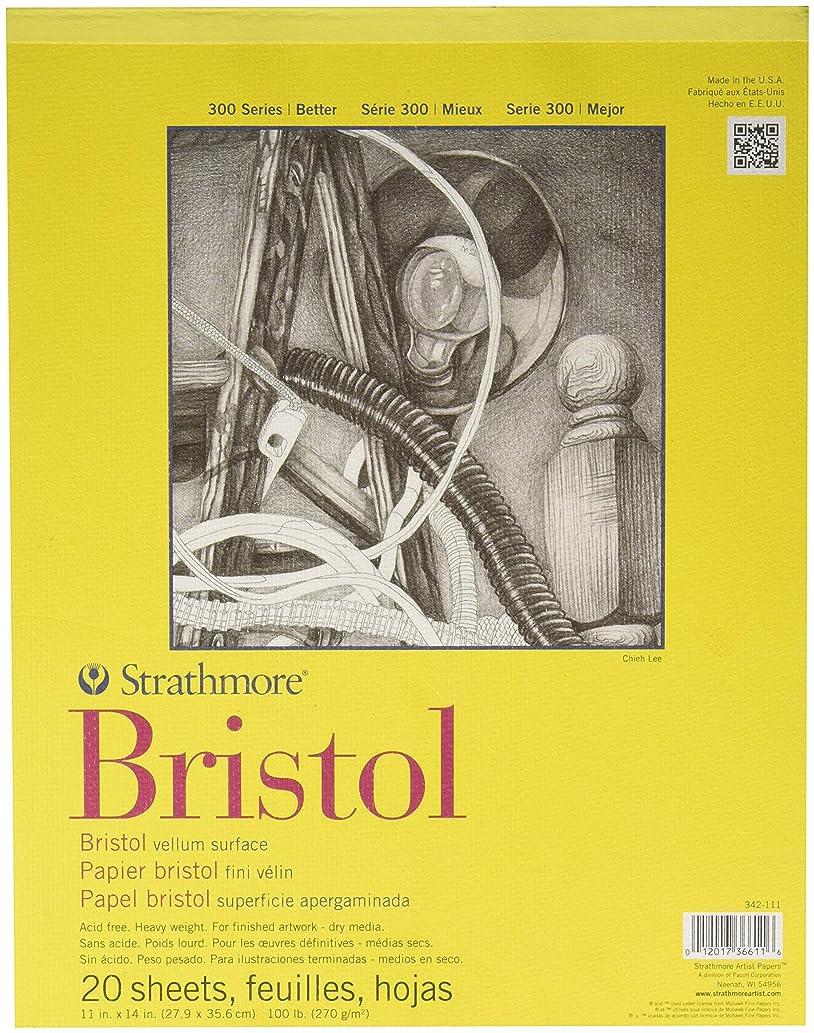 Strathmore 300 Series Bristol Pad - 11-Inchx14-Inch - 20 Sheet Pad