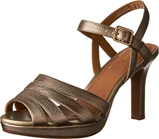 cae8e12904d Amazon.com  Gold - Sandals   Shoes  Clothing