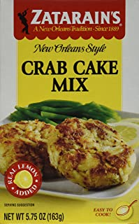 Zatarain's, Crab Cake Mix, 5.75 oz, Pack of 6