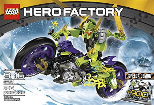 bienvenido a comprar Lego Hero Hero Hero Factory SPEEDA DEMON [6231]  varios tamaños