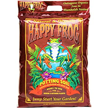 FoxFarm FX14240 FX14054 Happy Frog Potting Soil, 12 Quart