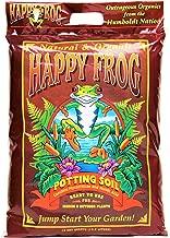 FoxFarm FX14054 Happy Frog Potting Soil, 12 Quart