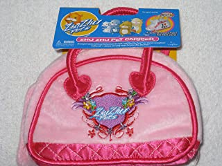 Zhu Zhu Pets Deluxe Pet Carrier with Logo - Pink