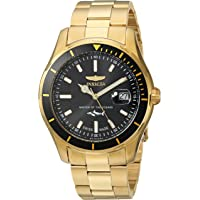 Invicta Pro Diver Quartz Men's Watch with Stainless-Steel Strap (Gold)