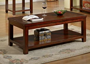 Furniture of America Coffee table, Dark Cherry