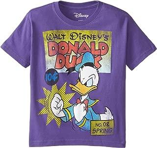 Disney Boys' Dduck Cover T-Shirt
