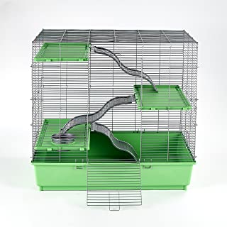 "Kaytee My First Home Multi-Level Habitat for Exotics, 30.5"" x 18"" x 30"""
