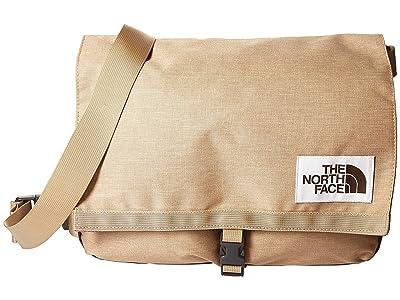 The North Face Berkeley Satchel (Kelp Tan Dark Heather/Asphalt Grey Light Heather) Satchel Handbags