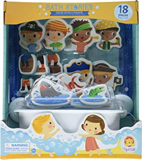 Tiger Tribe Bath Stories, Once Upon a Pirate Bathtub Toys