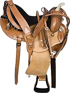 AceRugs GAITED Western Pleasure Trail Horse Saddle TACK 14 15 16