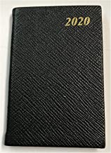 Charing Cross 2020 D753L Crossgrain Leather Diary Week to View 5