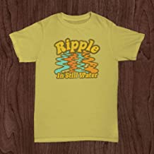 Jerry Garcia Hand Lapel Pin Grateful Dead Guitar Blue Handmade Best Friends Gift Groovy Retro Hippie Spring Summer Statement Wood Hat Button