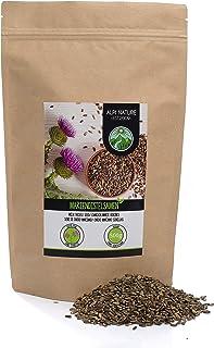 comprar comparacion Semillas de cardo mariano (500g), 100% naturales, suavemente secadas, veganas