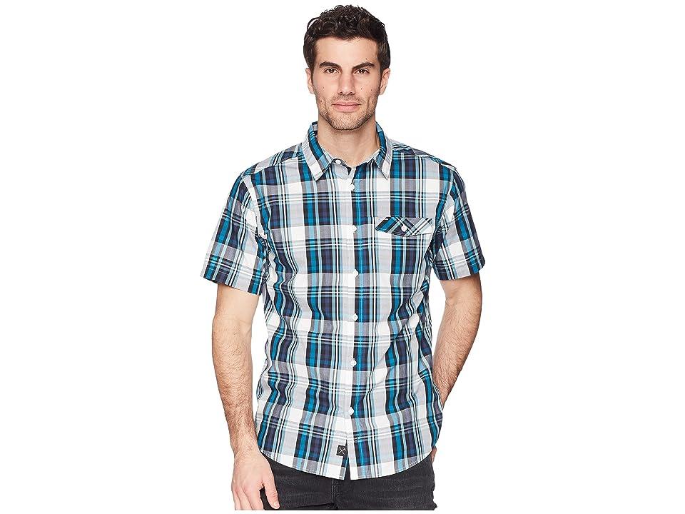 Mountain Hardwear Farthingtm S/S Shirt (Lakeshore Blue) Men