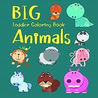 Big Toddler Coloring Book Animals Printable Worksheet