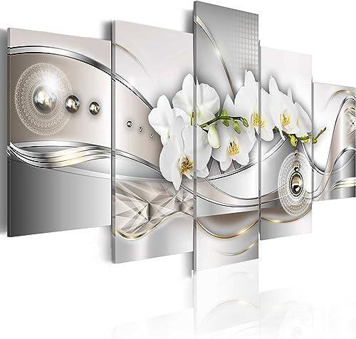 B&D XXL murando Impression sur Toile intissee 200x100 cm cm 5 Parties Tableau Tableaux Decoration Murale Photo Image ...