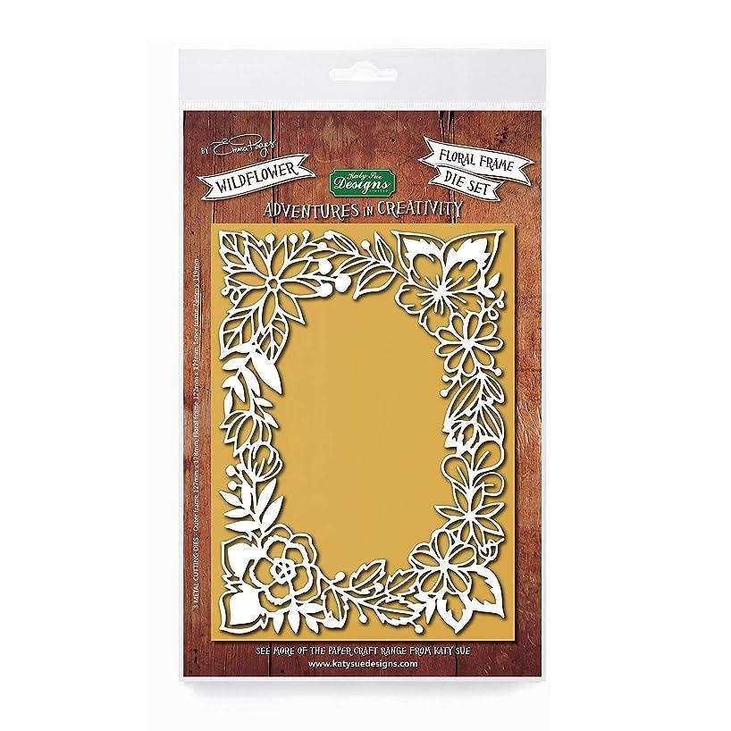 Adventures in Creativity, Wildflowers Frame Die, Card Making Kit, Emma Boyes