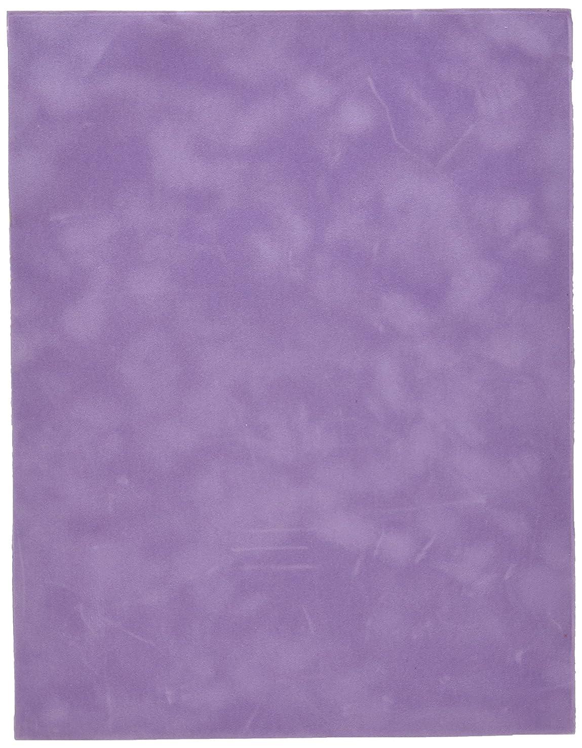 Sew Easy Industries 12-Sheet Velvet Paper, 8.5 by 11-Inch, Lavender