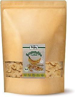 Biojoy BIO-Bananenchips, ongezoet en vrij van zwavel (1 kg)