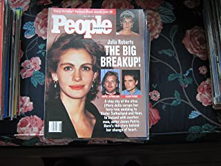 People Weekly (JULIA ROBERTS...THE BIG BREAKUP...Kiefer Sutherland , Jason Patric, July 1 , 1991)