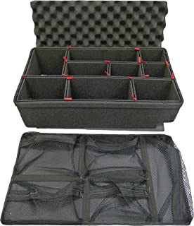 TrekPak Divider System to fit the Pelican 1510 case & Pelican 1519 Lid organizer