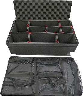 TrekPak Divider System to fit the Pelican 1510 case & Pelican 1519 Lid organizer