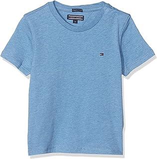 Tommy Hilfiger T Camiseta Básica de Manga Corta para Niños