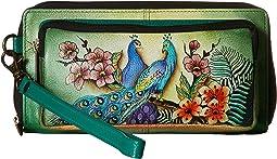 Anuschka Handbags - 1111 RFID Blocking Zip-Around Clutch Wallet
