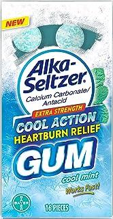 Alka-Seltzer Heartburn Relief Gum, Cool Mint 16ct