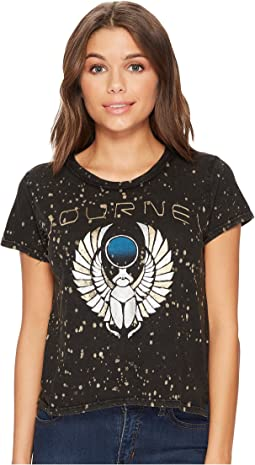 Lucky Brand - Metallic Journey Tee