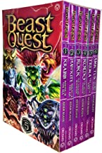 Beast Quest Series 5 The Shade of Death 6 Books Collection Box Set by Adam Blade