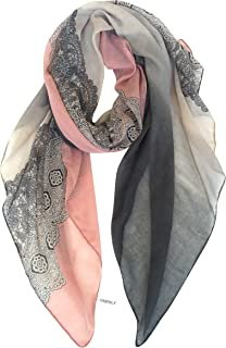GERINLY Lightweight Scarf Fashion Lace Designed Women Hijab Wrap Shawl