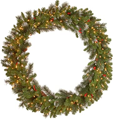National Tree 48 Inch Crestwood spruce Wreath, 48 in