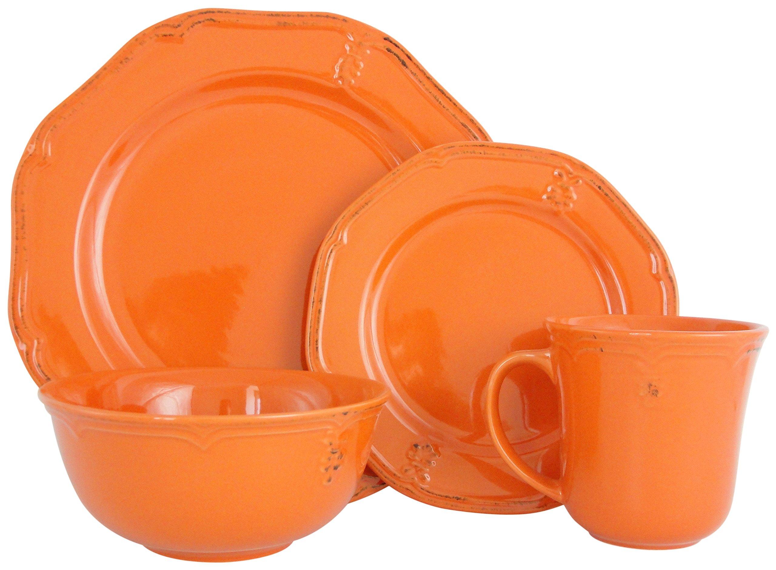 Melange Stoneware Dinnerware Microwave Dishwasher