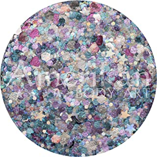 Amerikan Body Art Glitter Creme - Venus (10 gm), Cosmetic Polyester Glitter in Creamy Base, Great for Face Paint, Glamour ...