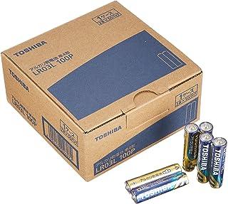 東芝 アルカリ乾電池 単4形1パック100本入 LR03L100P