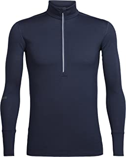 Icebreaker Merino Men's Incline Half Zip Midlayer Pullover Top, Merino Wool