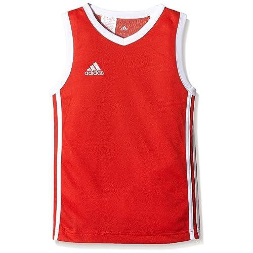 adidas Y COMMANDER J - Camiseta para niño, color rojo / blanco, talla 140