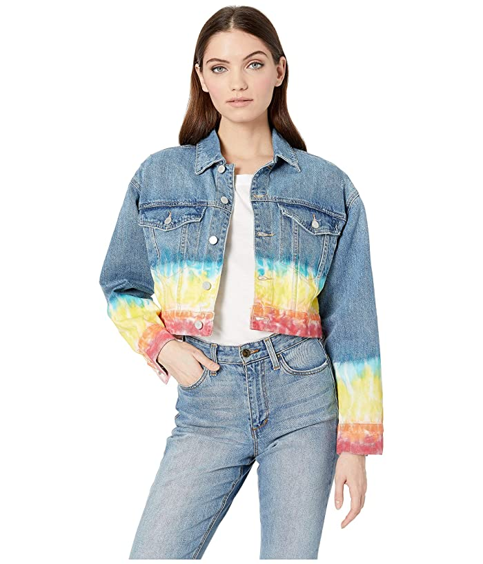 Blank NYC Tie-Dye Denim Jacket in Blow The Bag (Blow The Bag) Women