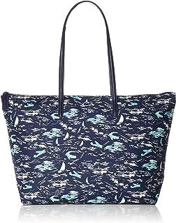 86218b45b58c5 Lacoste - Grand sac cabas imprimé hawaïen simili cuir femme L.12.12 Concept  (nf2798cf