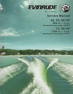 2013 EVINRUDE E-TEC OUTBOARD 40, 50, 60, 75, 90 HP SERVICE MANUAL 5009005 (457)