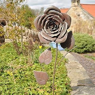 Regalo de Patio Antiguo Estilo Vintage 16 x 12 x 11 cm Avocado Stone Estatua de p/ájaro r/ústica Decorativa de Resina para jard/ín